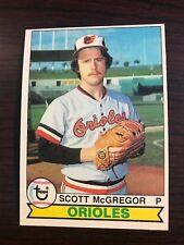 1979 Topps Scott Mcgregor Baltimore Orioles 393