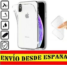 "Funda Gel Tpu posterior para APPLE IPHONE XS MAX ""6.5""  Carcasa Transparente >>"