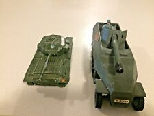 Dinky army toys two pics