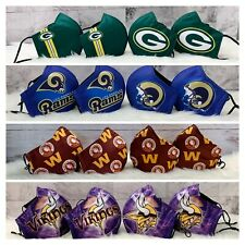NFL Football Face Mask - 4 for $18 SPECIAL!