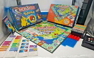 Monopoly: Pokemon (1999 Hasbro/Parker Brothers/Nintendo)