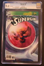 SUPERGIRL #35 Ltd Roux VARIANT 1st Lucy Lane SUPERWOMAN 2009 CBS TV CGC NMMT 9.8