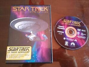 STAR TREK Saison 1 - DVD The Collector´S Edit Folge 1-4 Ausgabe Spanisch