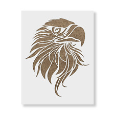Eagle Head Stencil - Reusable Mylar Stencils for Painting