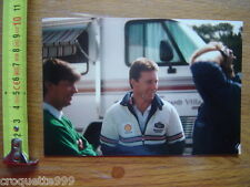 Photo MOTO Motocyclette WAYNE GARDNER Pilote HONDA ROTHMANS camping car