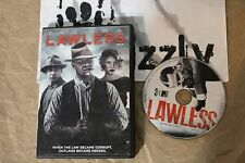 USED Lawless DVD (NTSC) Tested and Working