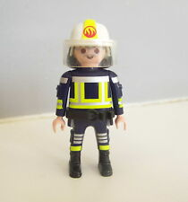 PLAYMOBIL (G2222) POMPIERS - Chef Pompier en Tenue d'Intervention 5366 5398 9463