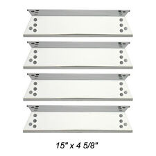 Kenmore Gas Barbecue Grill Replacement Stainless Steel Heat Plate SPX681- 4pack