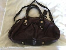 Marc for Marc Jacobs Classic Q Groovee Brown Satchel Bag