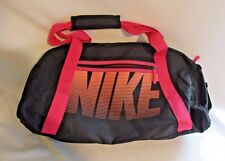 Nike Gym Club Black/Vivid Pink/Bright Mango Duffel Bag