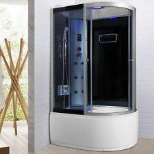Box doccia Idromassaggio semicircolare 120X80 bluetooth ozonoterapia luci led /9