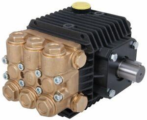 Interpump WW95 High Pressure Pump Male Solid Shaft 100 Bar 1450 PSI 9.5 LPM