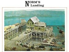 Campbell Norm's Landing Complete 3 Kit Package Pier, Boat House, Ice House Cafe