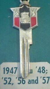 PLYMOUTH Mayflower CREST KEY blank fit 1943-48, 52, 1956-1967 Vintage Original
