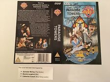 Doctor Who Multi Signed VHS Cover Paradise Towers