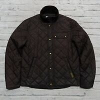 Polo Ralph Lauren Quilted Riding Jacket Size M Black