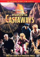 In Search of the Castaways DVD NEW