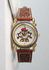 Mint Unisex Looney Tunes Cowboy Tasmanian Devil Western Texas Two-Tone Watch