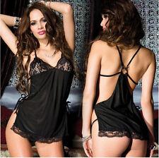 Women Sexy/Sissy Lingerie G String Thong Underwear Nightwear Sleepwear 74