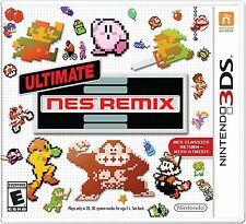 Ultimate NES Remix (Nintendo 3DS, 2014) Brand New Factory sealed !!!!!