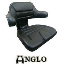 NEW Black Universal Seat tractor, John Deere Ford Kubota IH Holland Massey Case