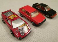 Vintage Hot Wheels Die Cast Vehicle Bundle Tattoo Road Pirate Toy Car 1980 1990s