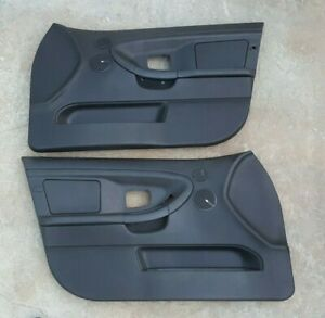 1996-1998 E36 BMW 3 series SEDAN Black Door Panels M3 328 325 323 320 318