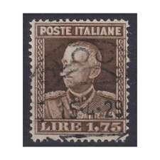 REGNO D'ITALIA 1929 PARMEGGIANI 1,75 LIRE N.242 USATO CERT.