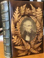Books, antique, Wordsworth poetry, 1880