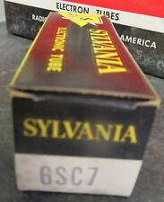 Sylvania 6SC7 Electronic Vacuum Tube