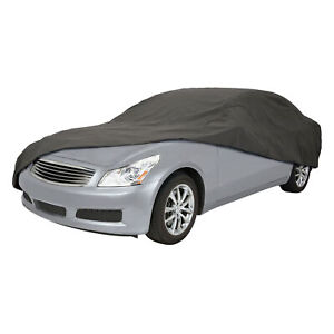 Classic Accessories OverDrive Polypro 3 Charcoal Compact Sedan Car Cover