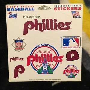 Philadelphia Phillies. Mello Smello Sticker set. New in shrink.