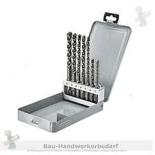 SDS-plus Hammer-Bohrer- Satz DUSS Nr. SDS 7T in  Kassette, 7 tlg. Gr. 5 - 12 mm
