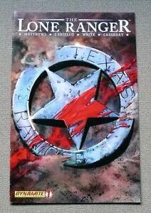 The Lone Ranger #1 (Dynamite 2006) 1st Printing; Cassady cover; VF-