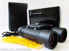 New listing Skyline Usa Compact Folding Binoculars 10x25mm w/ Case & Strap Black Bn-63297