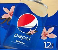 Pepsi Vanilla Cola 12 Pack