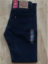 Levi's Men's New 511 30X32 Blue Jeans StretchSlim Fit/Slim Hip-Ankle LoRise 2088