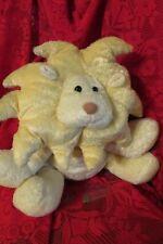 Big Sunflower Shape Lion Mane Baby Rattle Russ Roarie Plush Stuffed Animal Toy