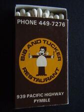 BIB AND TUCKER RESTAURANT PACIFIC HWY PYMBLE 4497276 MATCHBOX