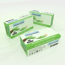 50 PCS MECHANICAL GREEN NITRILE GLOVES,POWDER FREE,6MIL,MEDIUM