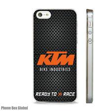 KTM suciedad Funda Bici del motor se ajusta IPHONE 4 4S 5 5S 5C 6 6S 7 8 SE Plus X