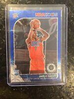 2019-20 NBA Hoops Premium Stock DARIUS BAZLEY Rookie BLUE LASER PRIZM # 04/99 SP