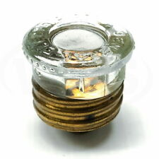 Ge3765 20 General Electric 20a Plug Fuses 125 Vac Transparent Top 5 Pack