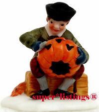 Dept. 56 Sleepy Hollow Character Boy with Jack-O-Lantern New England 59560