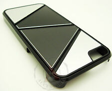 For iPhone 5 5S SE METAL Aluminum MIX HARD Case Phone Cover Silver Grey Black