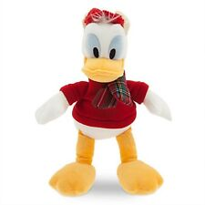 DONALD DUCK HOLIDAY PLUSH WITH GENUINE ORIGINAL AUTHENTIC DISNEY STORE PATCH NWT