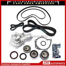 Timing Belt Kit Water Pump Serpentine Belt For 99-05 Mitsubishi Dodge 2.4L 4G64
