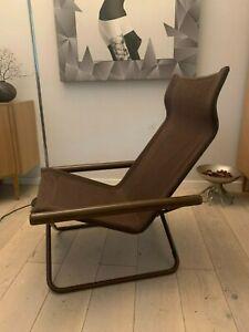Seltener 60er /70er Design Klappstuhl Lehnstühle Stuhl Stahlrohr Gartenstuhl