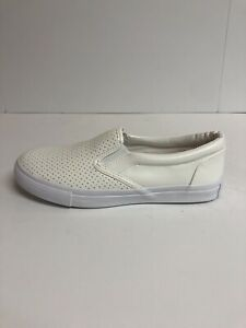 Soda Tracer Women's Size 7.5M Slip On Flat Perforated Sneakers
