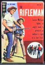 "The Rifleman #16 Dell Comic Book 2"" x 3"" Fridge Magnet. Chuck Connors."